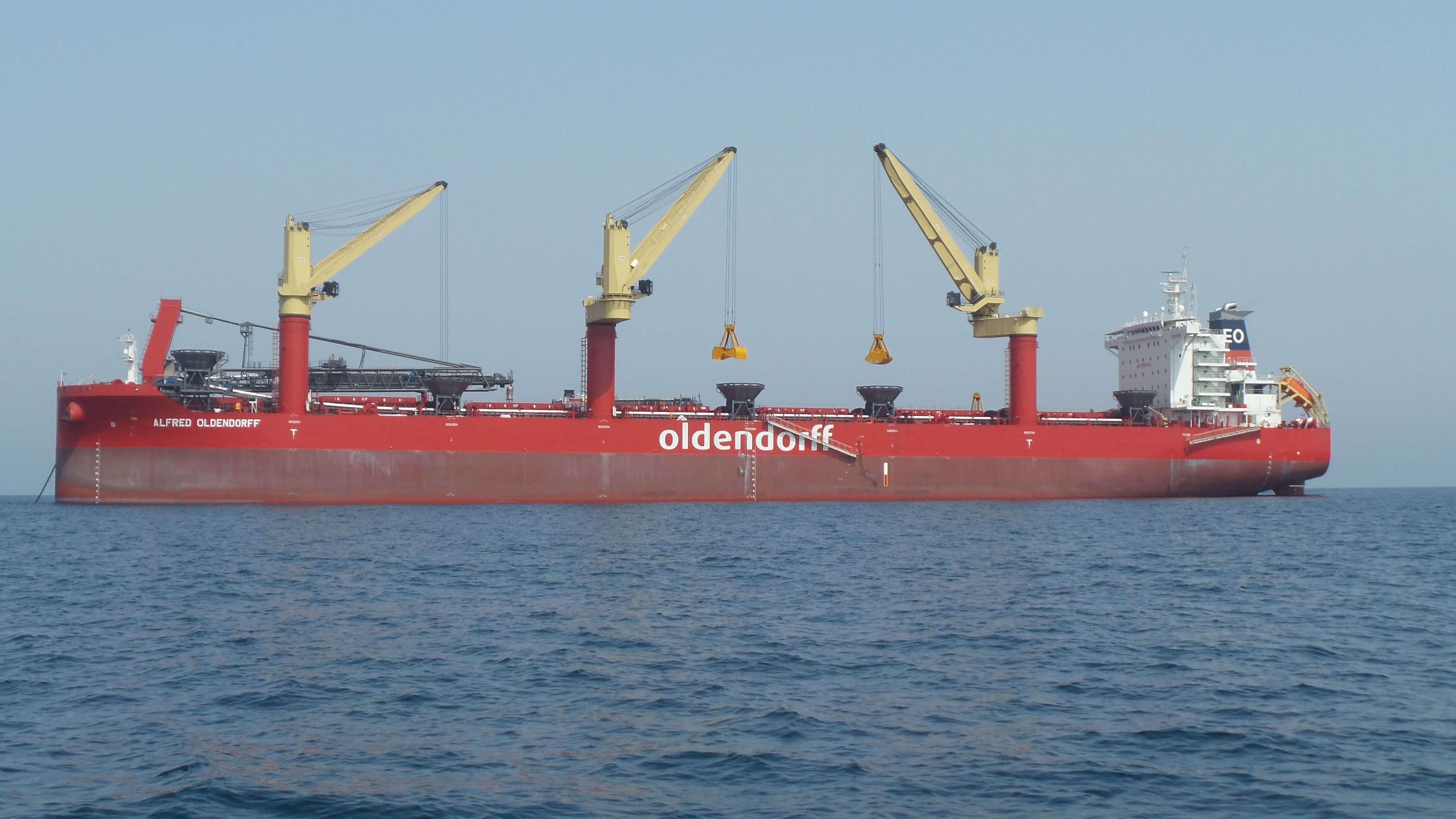 OLDENDORFF CARRIERS – Transshipment Logistics in the Arabian Gulf
