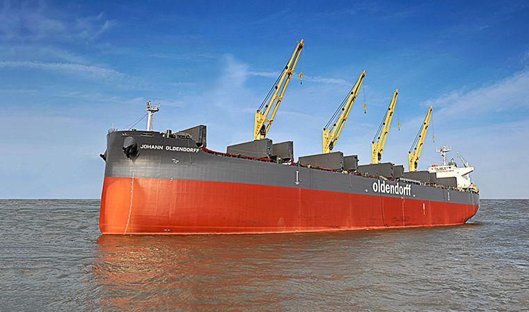 OLDENDORFF CARRIERS – Bulk Cargo Vessels & Dry Bulk Shipping